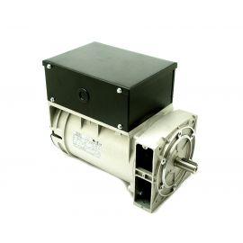 Alternador Mecc alte monofásico S16F-150/2. 5,5 KVA con eje libre.