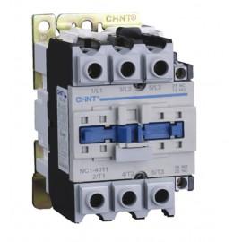 CONTACTOR CHINT 3P+1P 80A/AC3 1 NA+1NC 230 VCa
