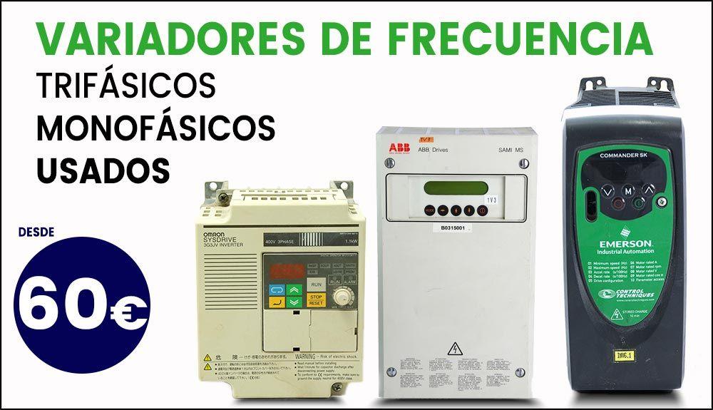 Variadores de frecuencia usados oferta