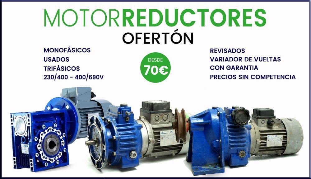 MOTORREDUCTORES  BARATOS ECONOMICOS OFERTAS