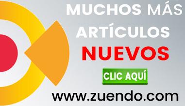 Productos nuevos en www.zuendo.com
